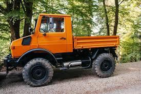 Das Unimog-Fahrzeug